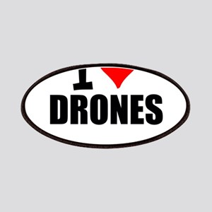 I Love Drones Patch