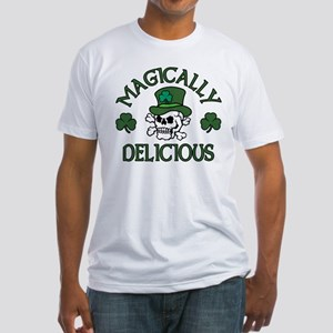 Magically Delicious Skull Fitted T-Shirt