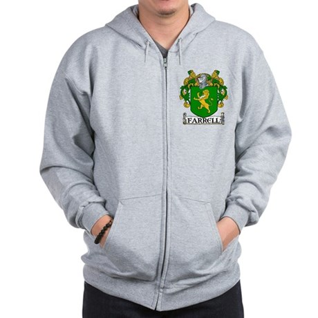 Farrell Coat of Arms Zip Hoodie
