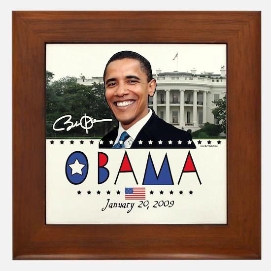 New Obama White House Framed Tile