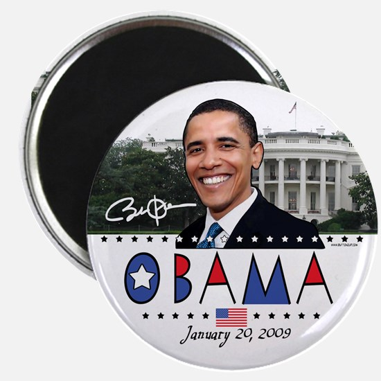 New Obama White House Magnet
