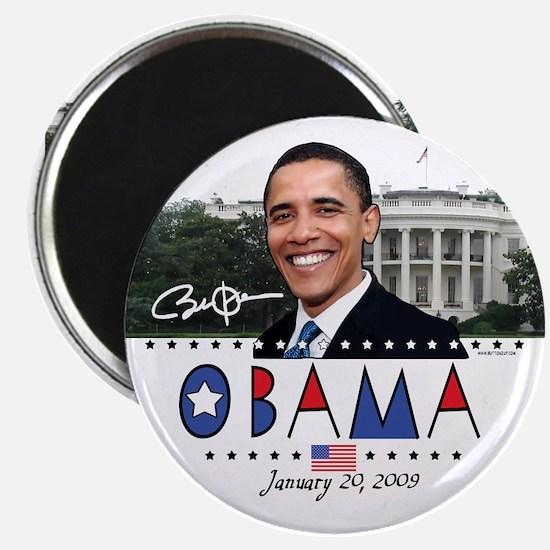 """New Obama White House 2.25"""" Magnet (10 pack)"""