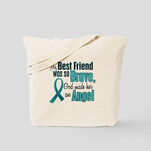 Angel 1 TEAL (Best Friend) Tote Bag