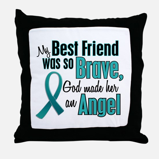 Angel 1 TEAL (Best Friend) Throw Pillow