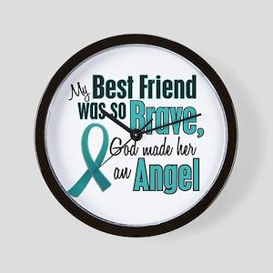 Angel 1 TEAL (Best Friend) Wall Clock