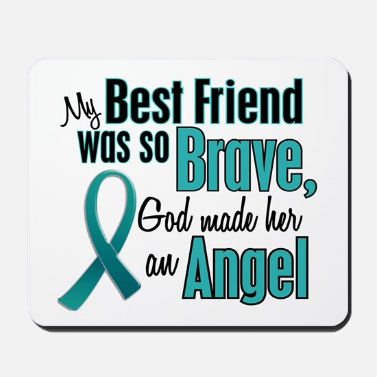 Angel 1 TEAL (Best Friend) Mousepad