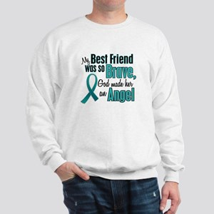 Angel 1 TEAL (Best Friend) Sweatshirt