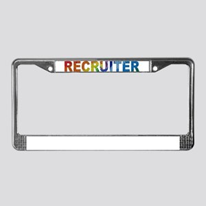Recruiter - License Plate Frame