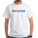 Recruiter - White T-Shirt