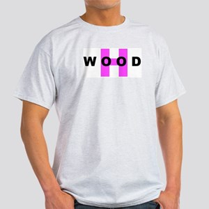H WOOD (HOLLYWOOD) Light T-Shirt
