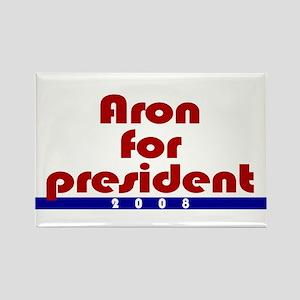 Aron for president. Rectangle Magnet