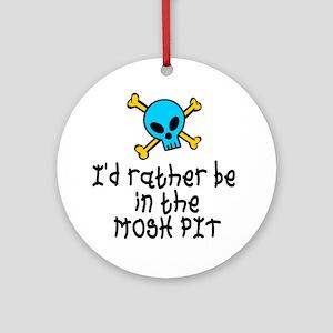 RockBaby Mosh Pit Ornament (Round)