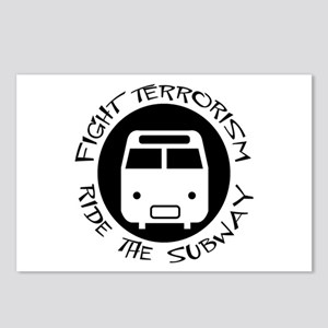 Ride the Subway Postcards (Package of 8)