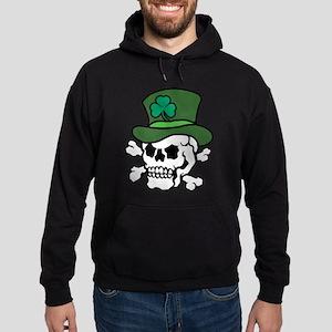 Skull Leprechaun Hoodie (dark)