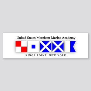 USMMA 1 Bumper Sticker