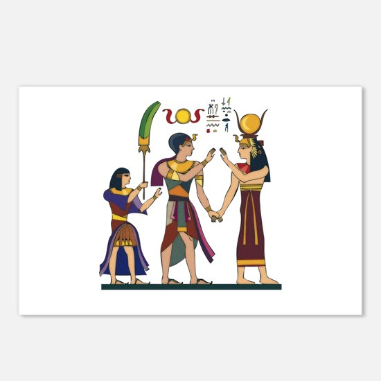 Queen Isis & Ramesses Postcards (Package of 8)