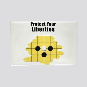 Protect Your Liberties Rectangle Magnet