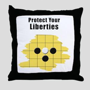 Protect Your Liberties Throw Pillow