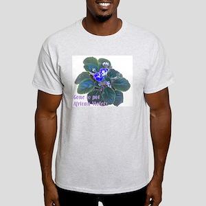 African Violet Ash Grey T-Shirt