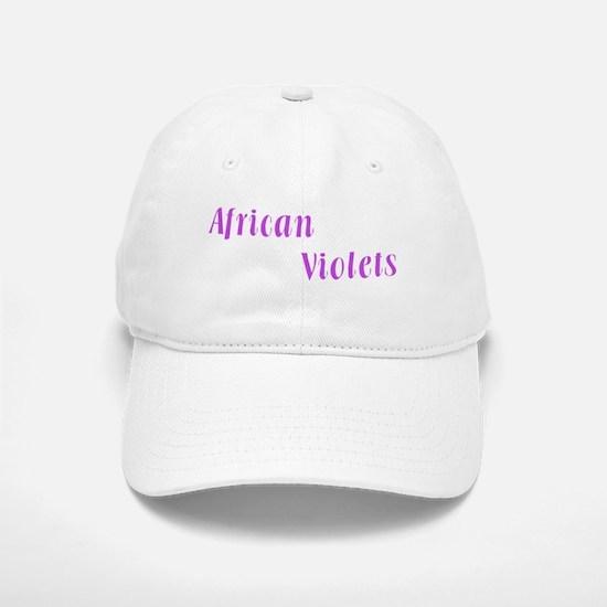 African Violet Baseball Baseball Cap