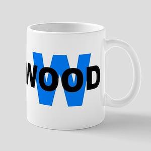W WOOD (WILDWOOD) Mug