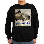 purr machine Sweatshirt (dark)