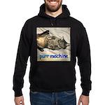 purr machine Hoodie (dark)