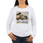 purr machine Women's Long Sleeve T-Shirt
