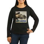 purr machine Women's Long Sleeve Dark T-Shirt