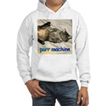 purr machine Hooded Sweatshirt