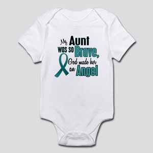 Angel 1 TEAL (Aunt) Infant Bodysuit