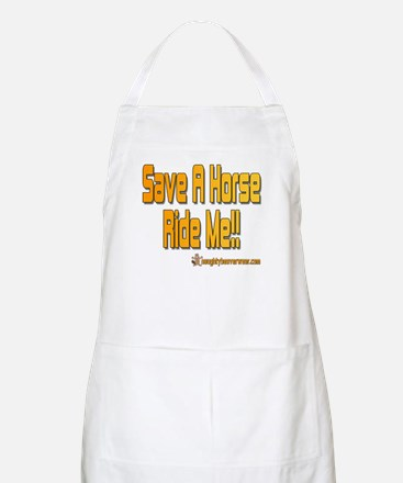 Save A Horse Ride Me BBQ Apron