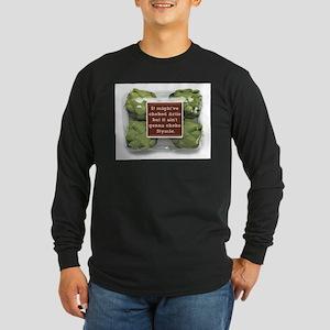 ARTIE CHOKE Long Sleeve Dark T-Shirt