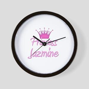 Princess Jazmine Wall Clock