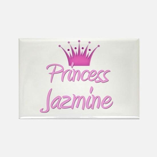 Princess Jazmine Rectangle Magnet