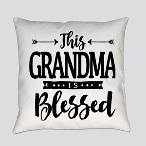 Grandma Is Blessed Christian Mothe Everyday Pillow