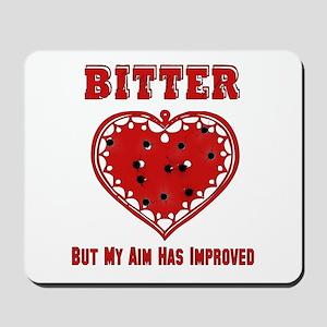Bitter Bullet Heart Mousepad