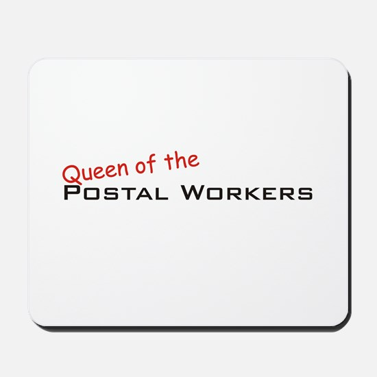 Postal Workers / Queen Mousepad