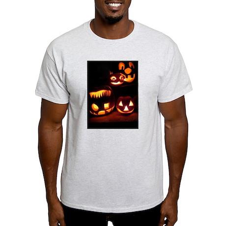 Halloween Pumpkins Light T-Shirt