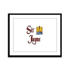 Sir Jayme Framed Panel Print