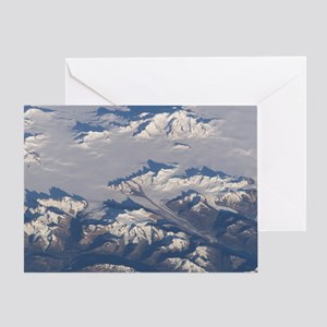 Ice Fields Greeting Card