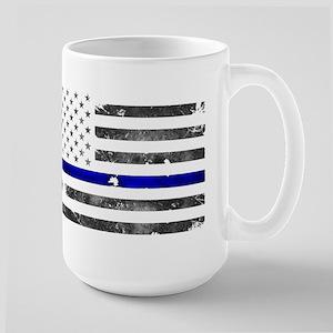 Thin Blue Line - Blue Lives Matter Mugs
