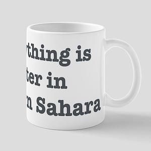 Better in Western Sahara Mug