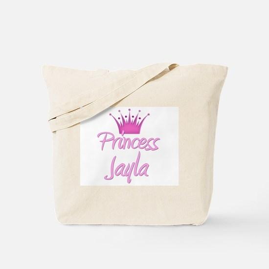 Princess Jayla Tote Bag