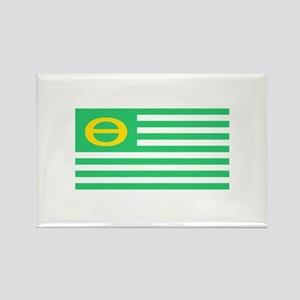 Earth Day Flag Rectangle Magnet