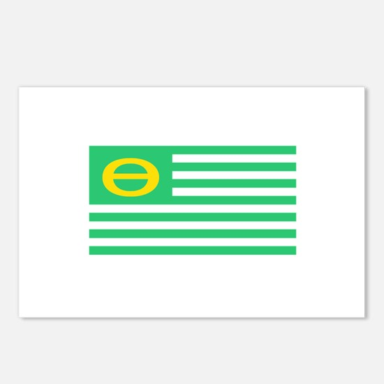 Earth Day Flag Postcards (Package of 8)