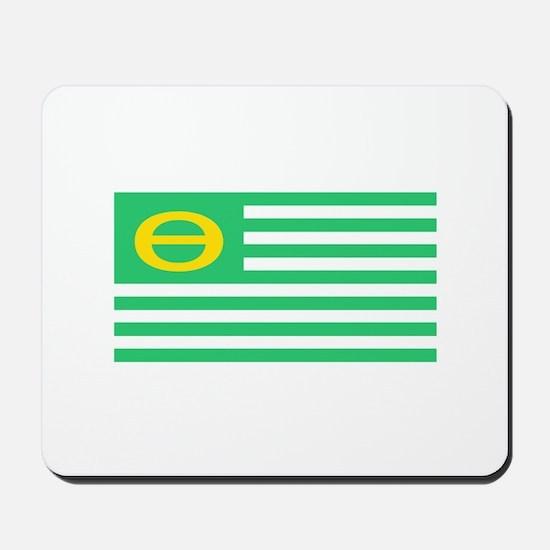 Earth Day Flag Mousepad