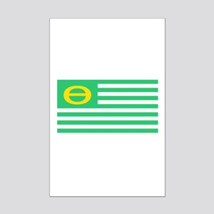 Earth Day Flag Mini Poster Print