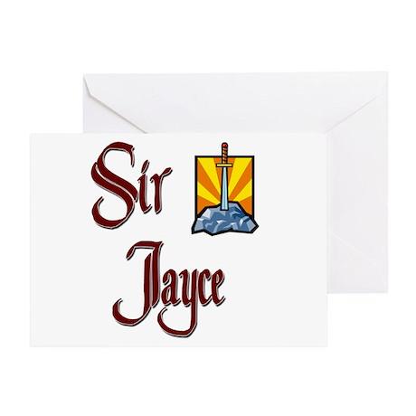 Sir Jayce Greeting Card