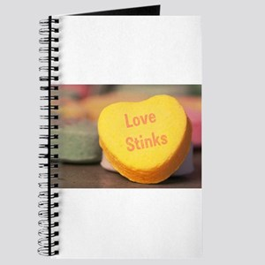 """Love Stinks"" Candy Heart Journal"